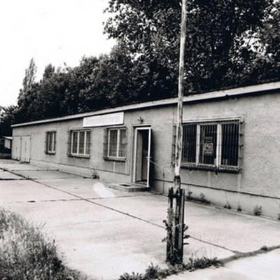 Eine Schwarz-Weiß-Aufnahme aus dem Jahr 1971