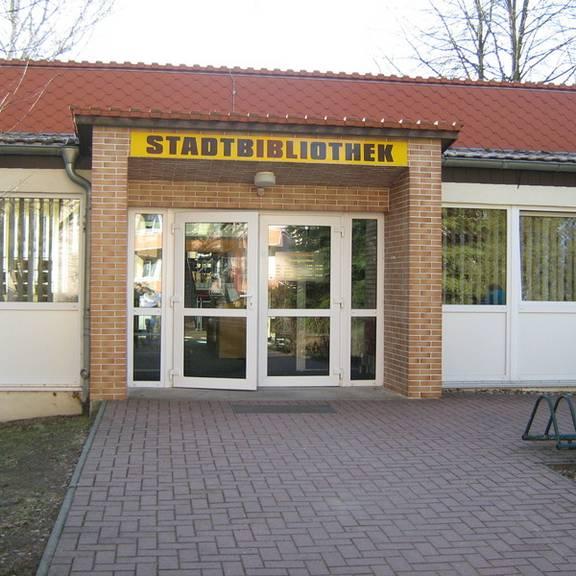 Standort der Stadtbibliothek seit 1996.